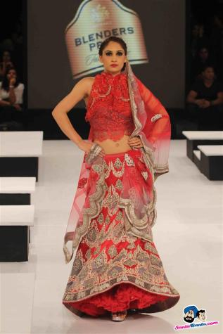 rBlenders-pride-fashion show simple red lehenga
