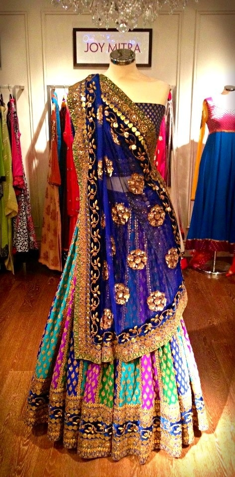 lehnga design 2014 Latest for engagement images for kids ...