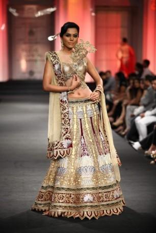 Unusual bridal by Anjalee and Arjun Kapoor 2