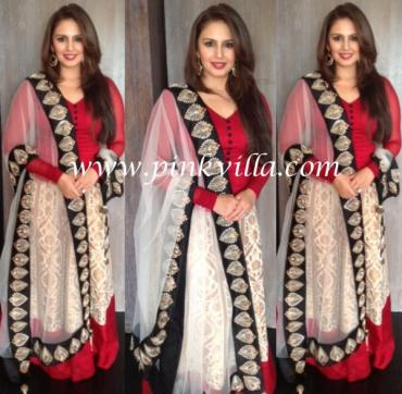 Huma_Quereshi_Payal_singhal_simple_lehenga
