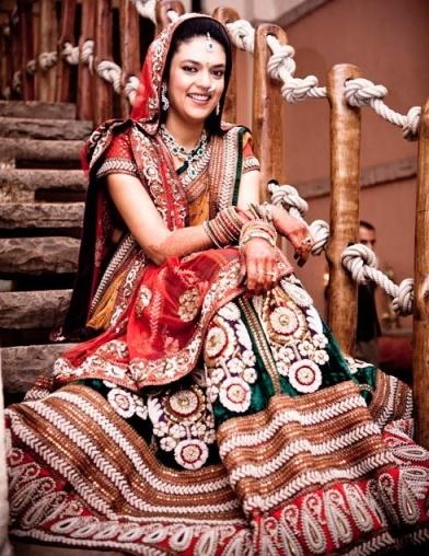 sabyasachi bride wedding lehenga choli
