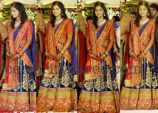 South-Bride-with-Sabyasachi-Mukherjee lehenga