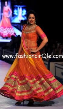 rajasthan fashion_sameera_reddy_pink_lehenga