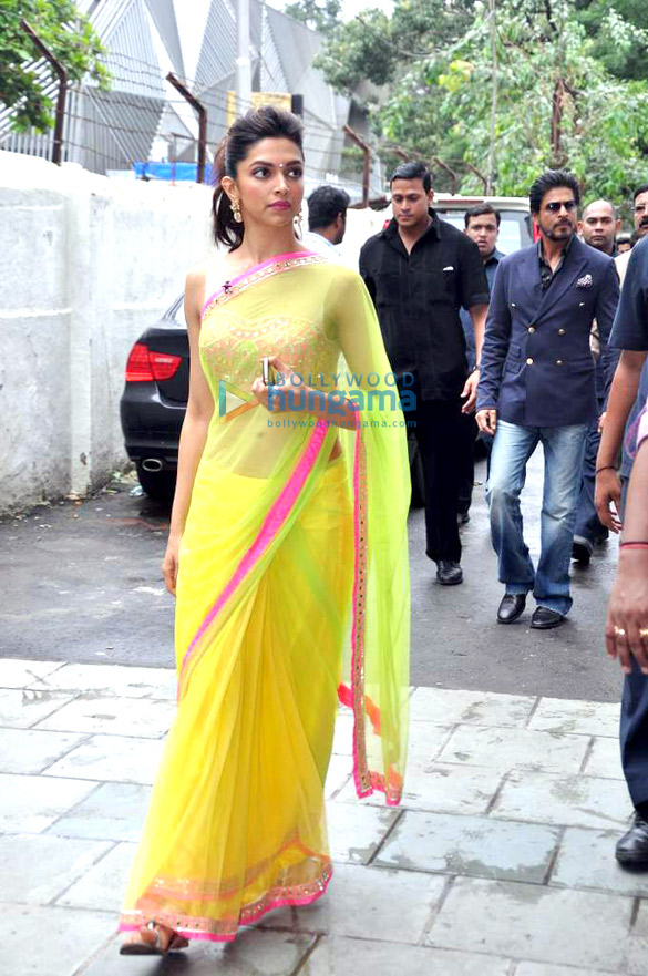 Deepika Padukone In Yellow Saree | www.pixshark.com ...