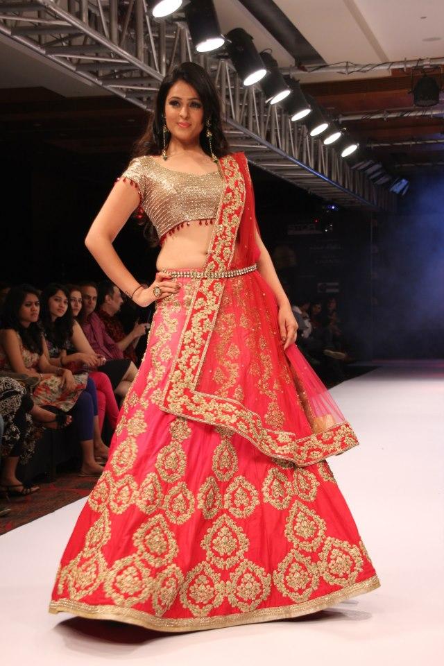 simple red lehenga | SareeBride Sabyasachi Bridal Collection 2013