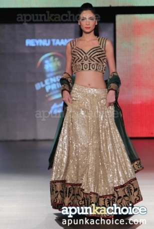 sparkling_reception_lehenga