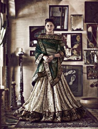 Sabyasachi simple lehenga