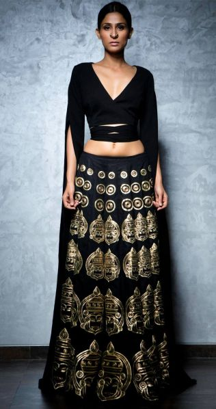 Nikhil_Thampi_Simple lehenga